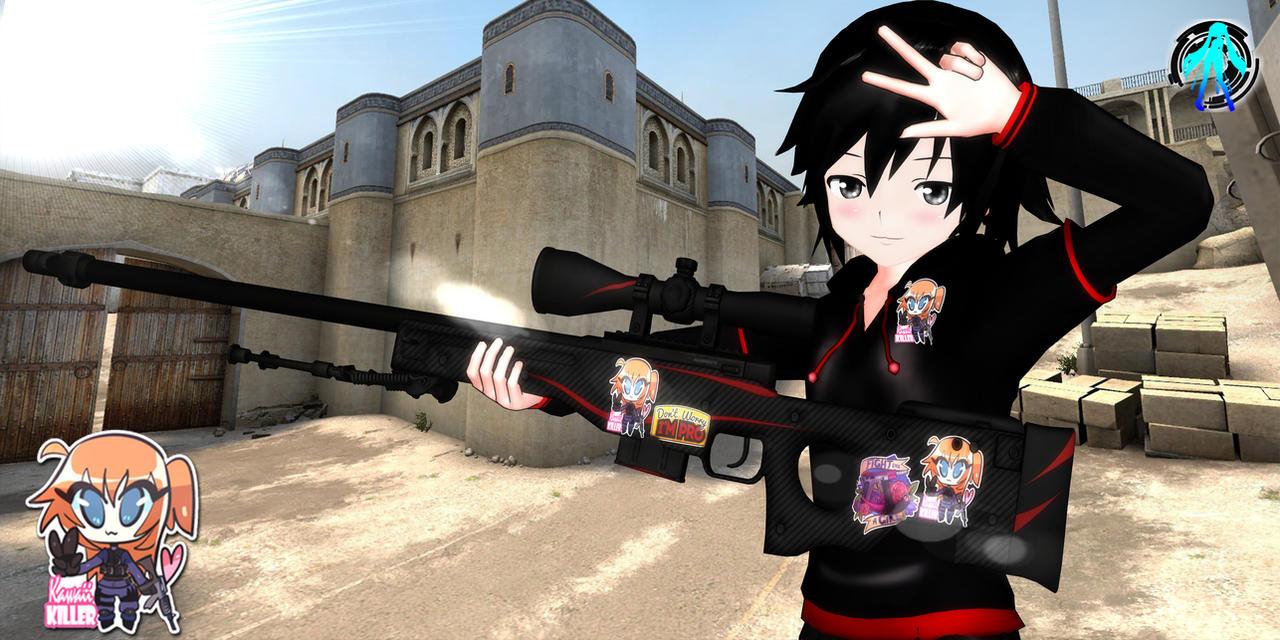 Фото аниме девушек на аву в кс го