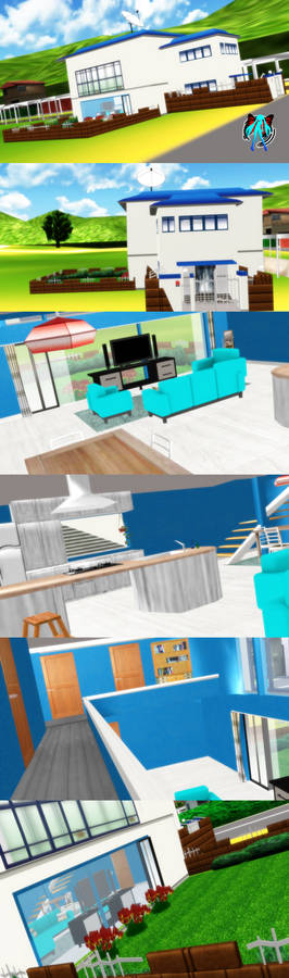 MMD Family House Stage + DL