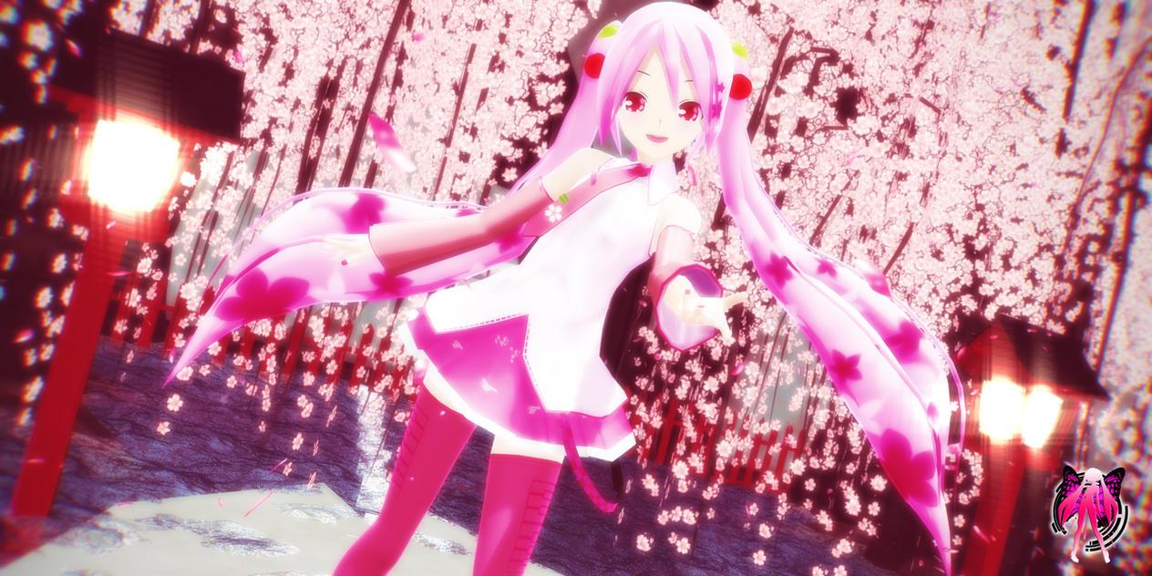Cheery Blossom rain - Lovely Sakura by XXSefa