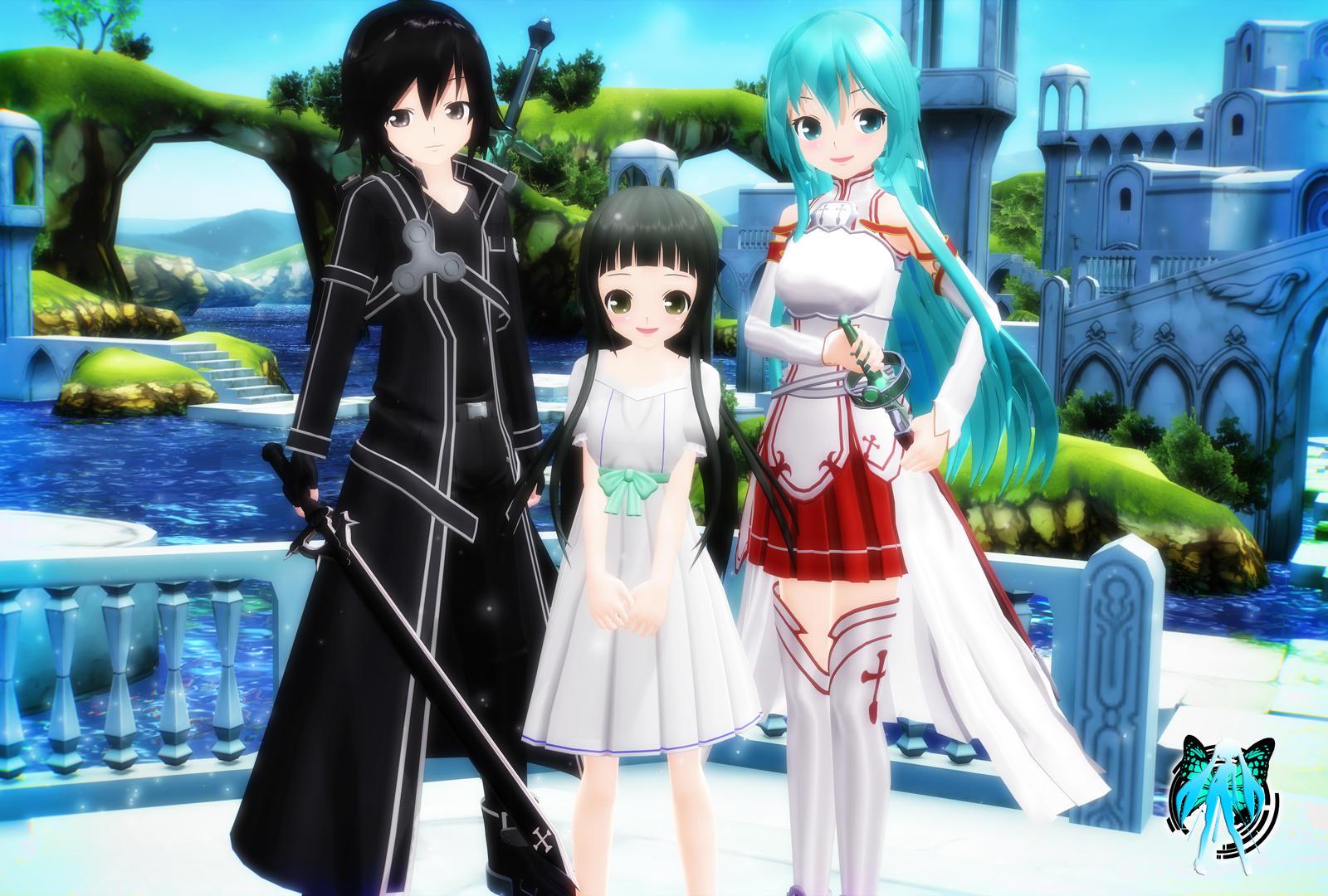 Dress up games favourites by asuna and kirito on deviantart - Godzillakari 16 1 Sword Art Online Family By Xxsefa