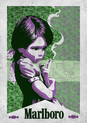 Smoking Child by Red-Cha