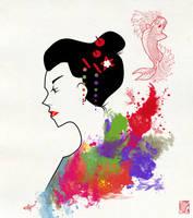 Geisha by Red-Cha
