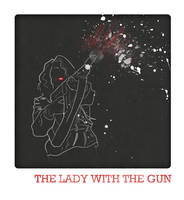 The Lady with the Gun by Red-Cha