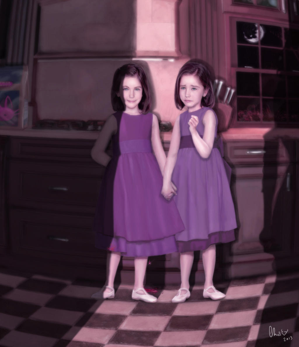 Evil Twins - Dark Little Secret by Red-Cha