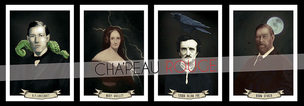 Fantastic Authors - series by Red-Cha