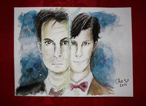Doctor Who - Watercolor