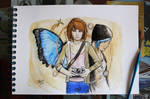 Life is strange - fanart - watercolors