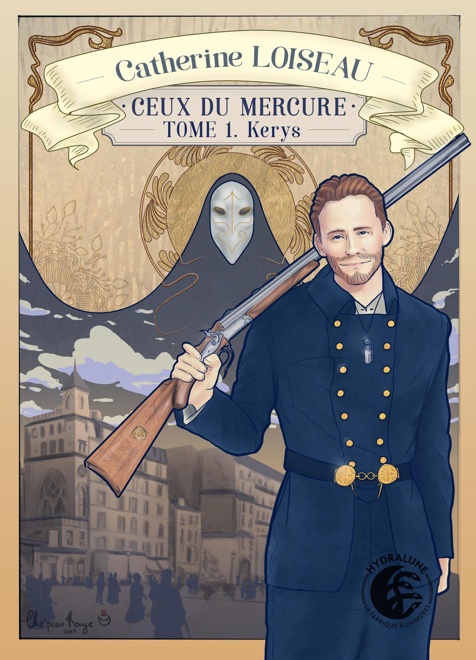 Book Cover 'Ceux Du Mercure' No.1