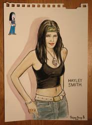 Hayley Smith (American Dad Fanart)
