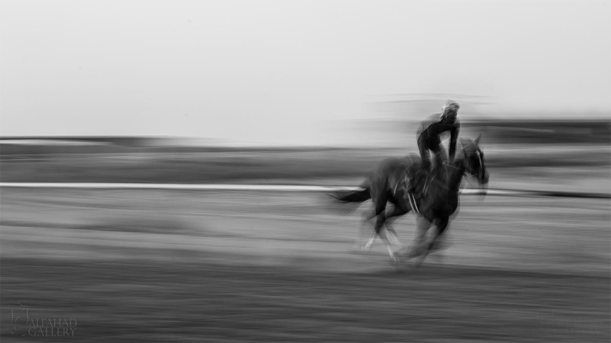 Running Horse I by alfahd
