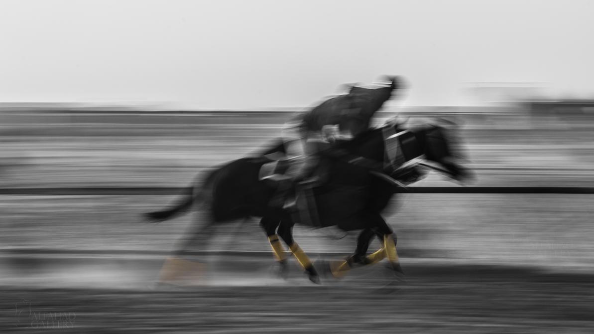 Running Horse II by alfahd