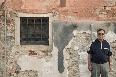 window, wall and the old man by alfahd