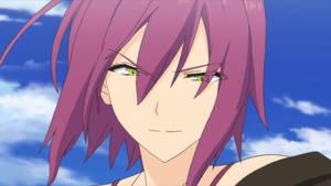 AoKana - Kagami Battle Face
