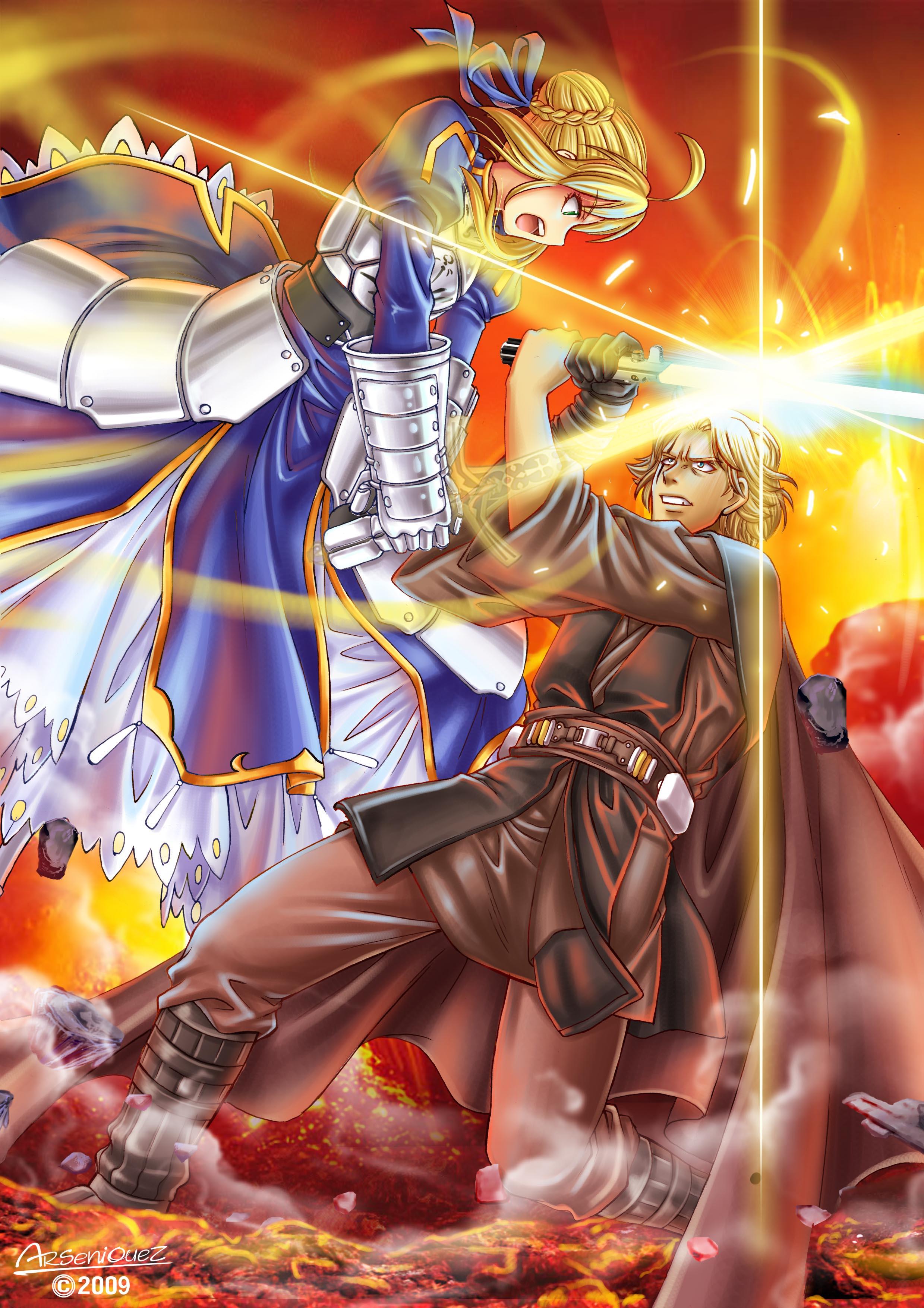 Saber vs anakin skywalker legends spacebattles forums - Spacebattles com ...