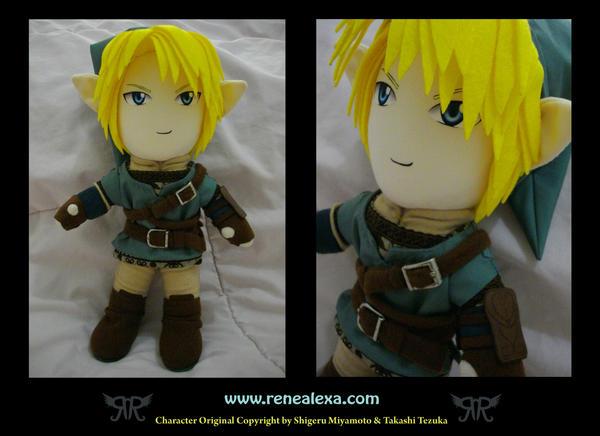 Legend Of Zelda - Link by renealexa-plushie