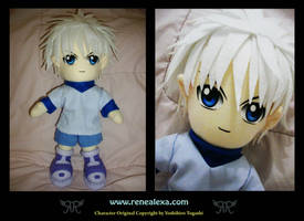 Killua Zaoldyeck by renealexa-plushie