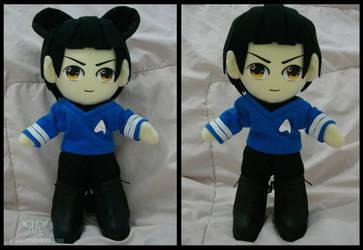 Spock by renealexa-plushie