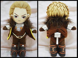 Cullen Rutherford Plushie by renealexa-plushie