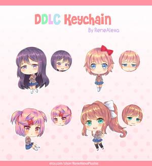 Doki Doki Literature Club - Double Sided Keychains