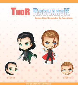 Thor Ragnarok - Double Sided Keychains