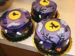 Spooky Cakes by Nimhel