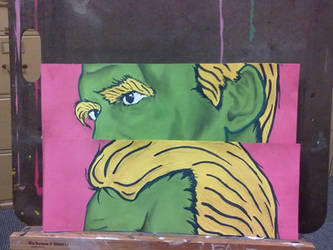 Pop Art Friedrich NietzscheWIP3