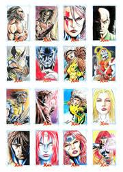 X-men sketchcards