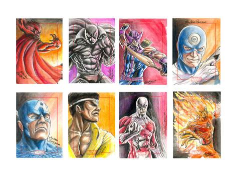 Marvel  70th Sketchcard pack-2