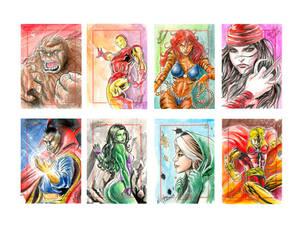 Marvel  70th Sketchcard pack-3