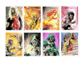 Marvel  70th Sketchcard pack-4