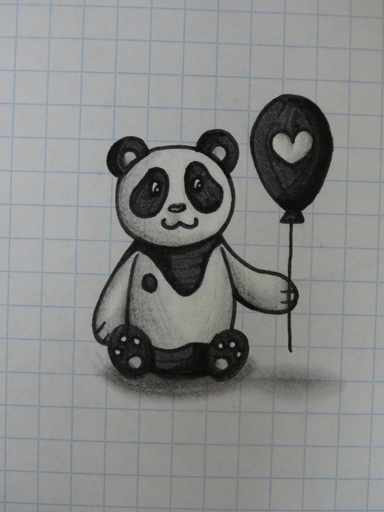 Panda by Rixxes