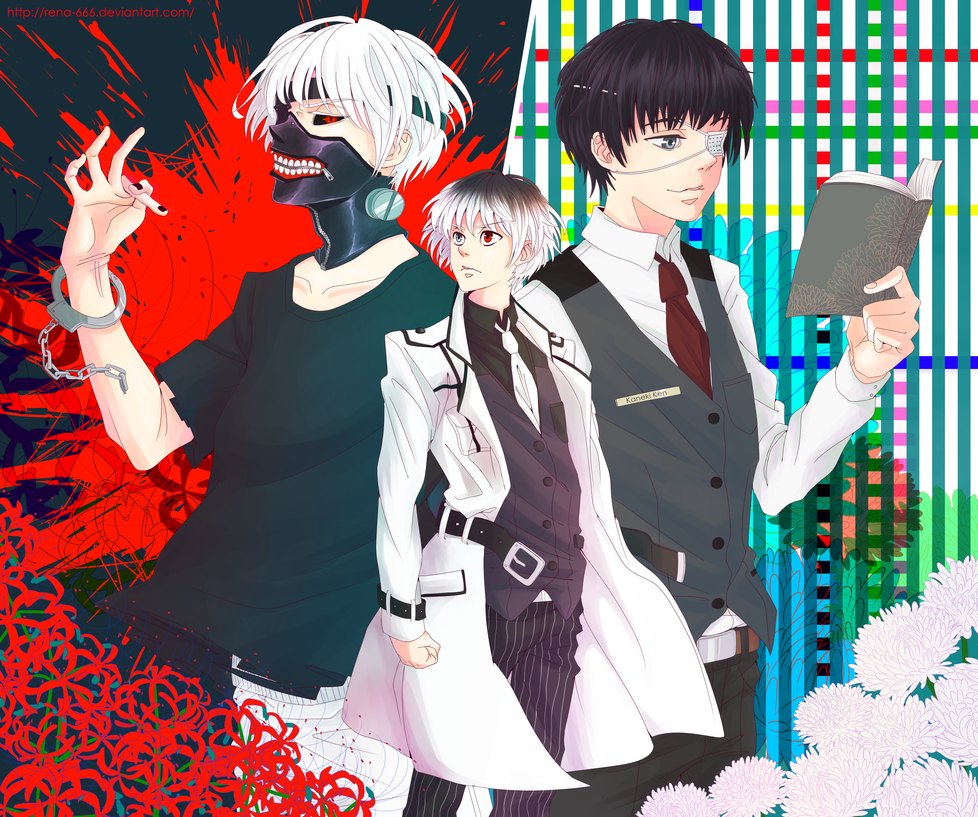 Tokyo Ghoul :RE By Rena-666 On DeviantArt