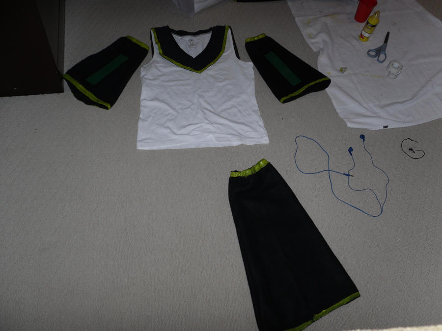 Rin Kagamine Outfit Rin Kagamine Cosplay Handmade1