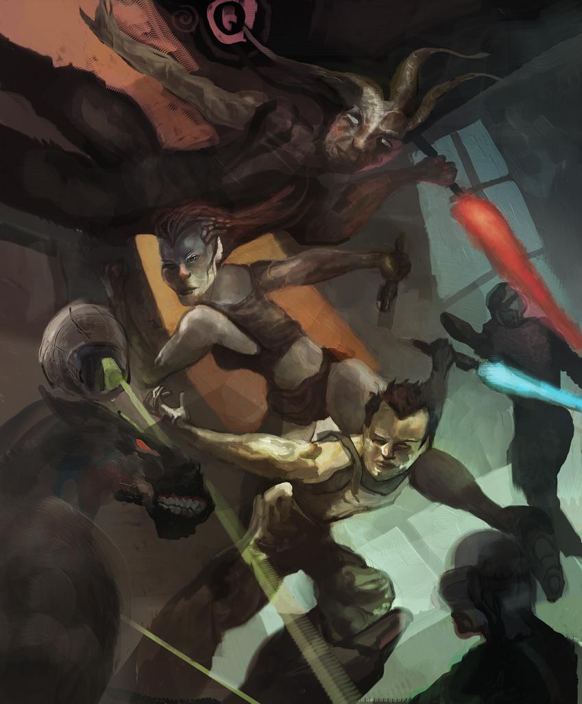 Star wars fan art by alexmartinez fan art digital art painting