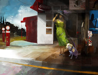 Hopper-homage by alexmartinez