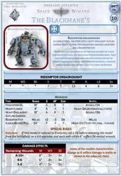 (SpaceWolves) Redemptor Dreadnought
