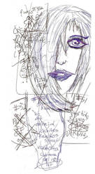 girl's face NO EDITS by SAGarrett