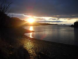 Kodiak Sunset 2 by Faerlyte