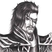 Xiahou Dun by Faerlyte