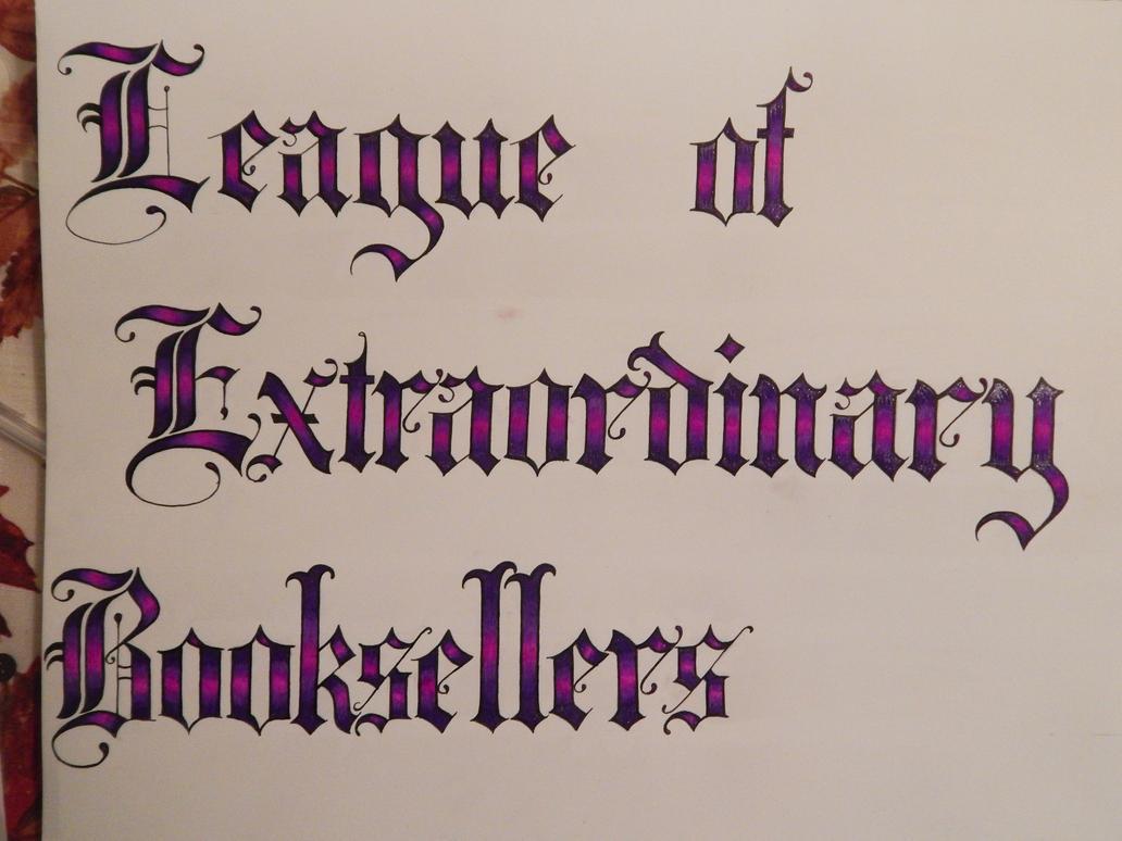 Letterwork by Faerlyte
