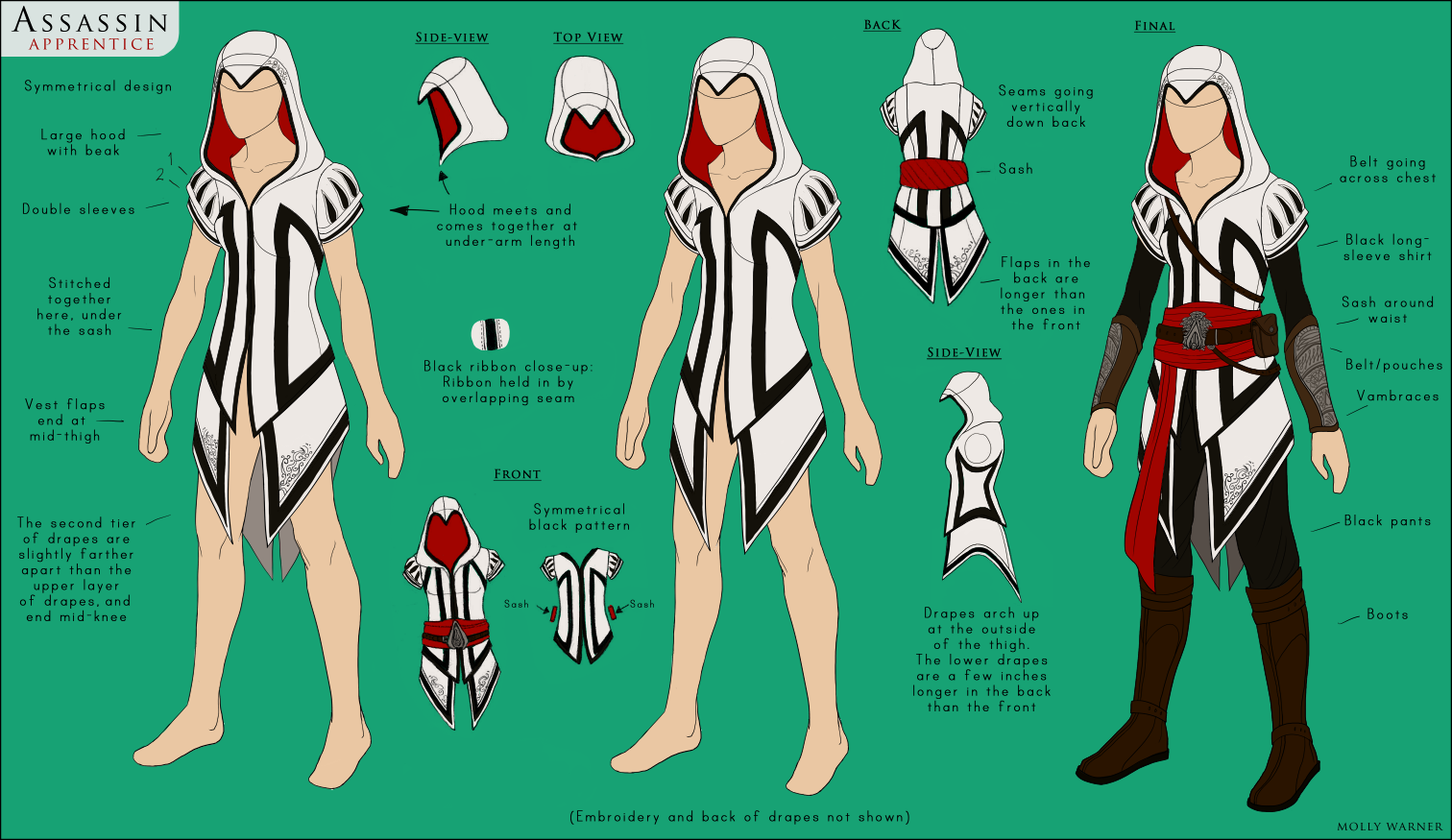 Assassin Costume Design By Silverskittle On Deviantart
