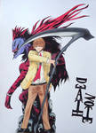 Light Yagami (Kira) and Ryuk from Death Note