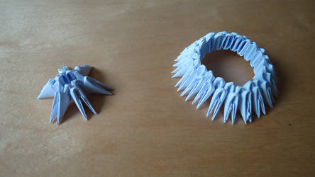 How To Make 3D Origami Mini Peacock Tutorial - YouTube(画像あり ... | 250x444
