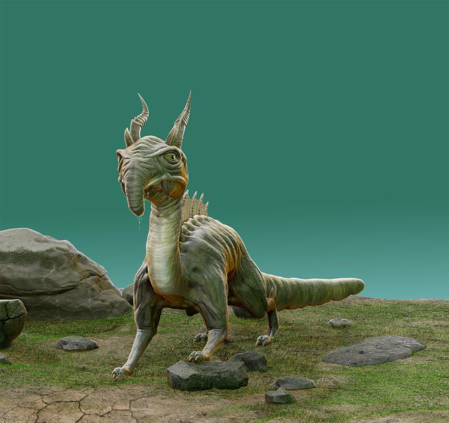 Raptor predator (3D) by Taitaviracocha