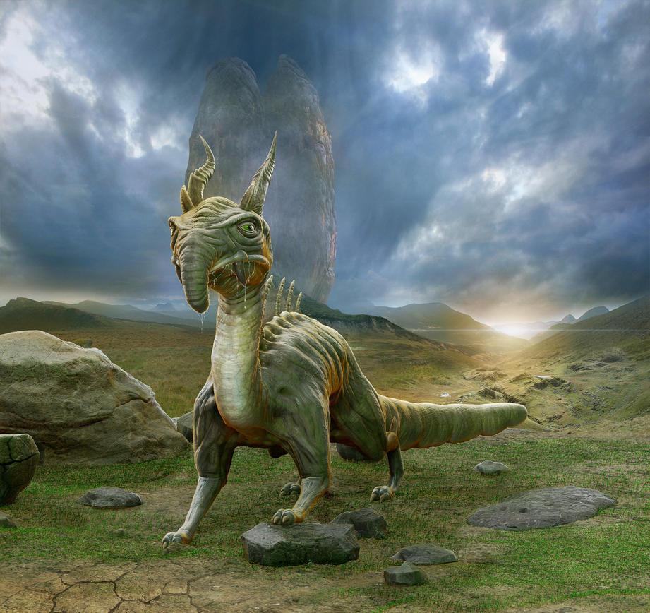 Raptor predator by Taitaviracocha