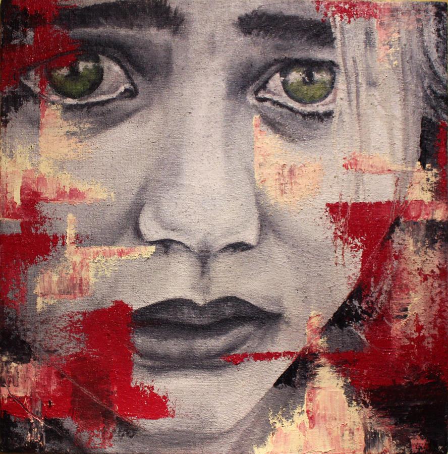 Sad little girl by AithneArt on DeviantArt