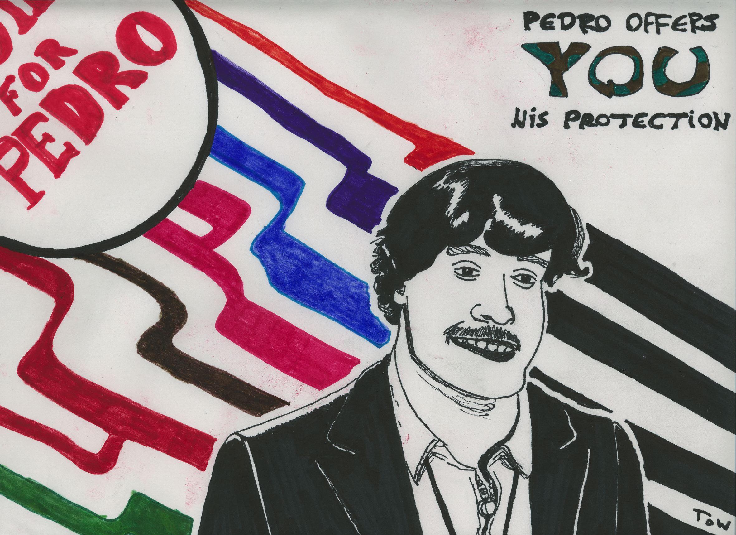 Vote For Pedro By Megawondergenious On DeviantArt