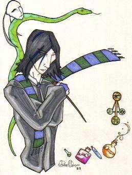 Young Snape by ShadowWalkerInc