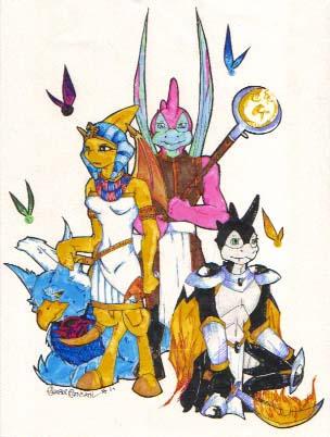 My Neo Family by ShadowWalkerInc