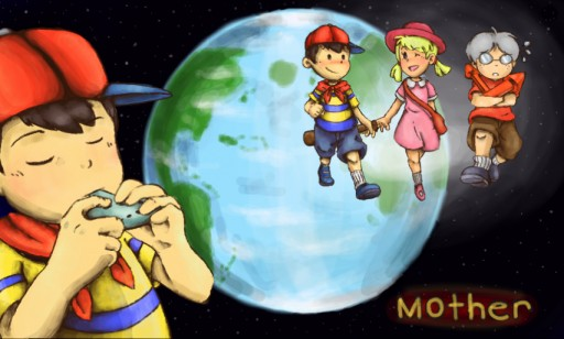 Earthbound Zero Anniversary by PokeGal21 on DeviantArt